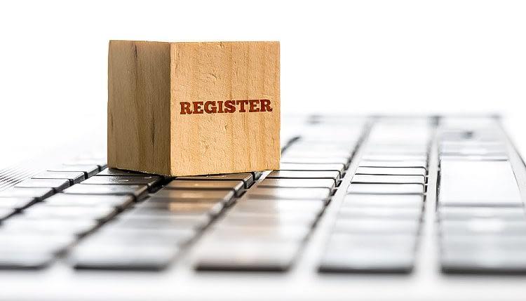 Register company