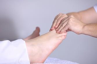 alternative foot massage therapy